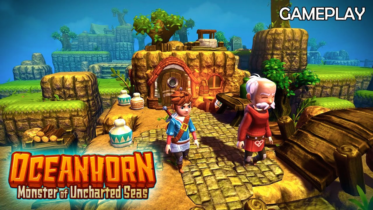 Oceanhorn: Monster of Uncharted Seas , Alternatif Zelda Untuk Smartphone !